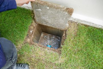 Sewer line cleaning by Mr. Plumber
